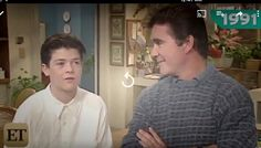 Alan Thicke with son Robin Thicke in 1991.