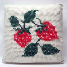 Strawberry pillows