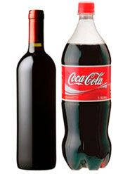 Coke and red wine make a perfectly delightful combination when mixed about and well iced. To prepare: Take a bottle of Coke and pour out half. Pour in one bottle of dry (and cheap) red wine. Seal the bottle. Dispense into red Solo cups full of ice Beach Drinks, Party Drinks, Fun Drinks, Yummy Drinks, Alcoholic Drinks, Beverages, Yummy Food, Cheap Red Wine, Dry Red Wine