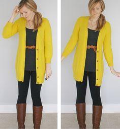 Yellow Cardigan on Pinterest   Mustard Yellow Cardigan, Mustard ...