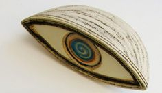 Evil Eye Sculpture - table art three dimensional art