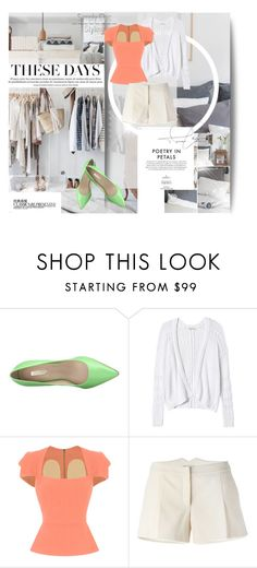 """""""Chic but Formal"""" by egagarza ❤ liked on Polyvore featuring GUESS, Chanel, Rebecca Taylor, Roland Mouret and Lanvin"""