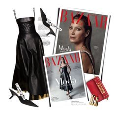 """Christy Turlington Stars on the Cover of Harper's Bazaar in Dior Spring 2017"" by sella103 ❤ liked on Polyvore"