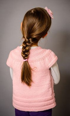 Ravelry: in threes: a baby cardigan by Kelly Herdrich