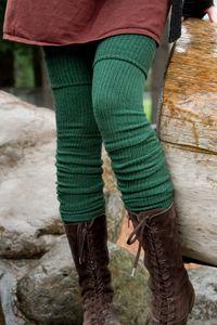 Long Cuffable Scrunchable Socks (Hunter Green)