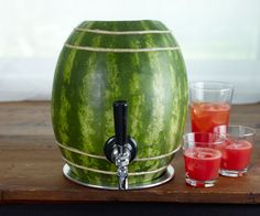 Watermelon keg... environmentally friendly! :)