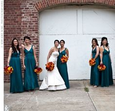 beautiful teal wedding theme wedding-favorites