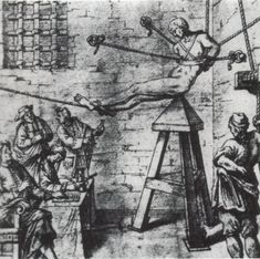 Medieval torture devices of the Catholic church during the genocide of the Christian Cathars and the order of Christian Templars