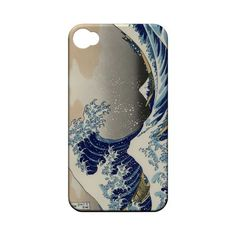 Katsushika Hokusai The Great Wave Off Kanagawa Geeks Designer Line Artist Series Matte Hard Case for Apple iPhone 4/4S $14.99