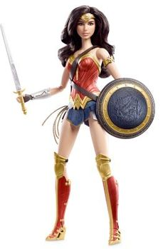 Wonder Woman™ Doll | The Barbie Collection--Shaking my head. Wonder Woman Barbie shouldn't be a collector's doll, she should be a toy for little girls to play with.