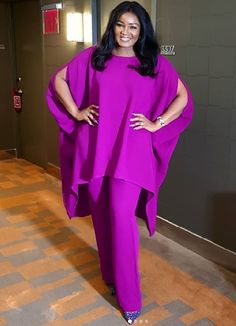Actress Omotola Jalade Ekeinde listed as one of the 100 Most Influential People of African Descent in the world Best African Dresses, Latest African Fashion Dresses, African Print Fashion, Africa Fashion, African Attire, Classy Dress, Chic Outfits, Ankara, Influential People