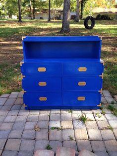 ENvy:  Cobalt blue dresser.