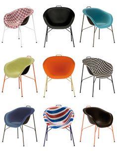 col. de sillas, Eu/phoria, de Paola Navone y Eumenes
