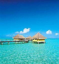 Остров Бора-Бора  Французская Полинезия, Тихий океан