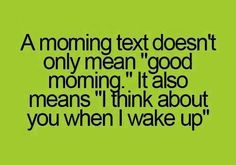 Best Good Morning Texts Messages for her or Best Good Morning texts for her messages and SMS can be send to your wife or girlfriend. Morning texts for her Good Morning Text Messages, Good Morning Texts, Good Morning Funny, Good Morning Wishes, Morning Humor, Morning Quotes, Morning Images, Favorite Quotes, Best Quotes