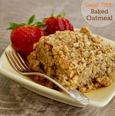 Sweet Potato Baked Oatmeal - delicious.  #MyAllrecipes #AllrecipesAllstars  #AllrecipesFaceless