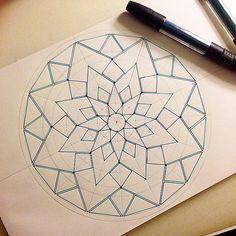 #Daily__Art #мандала #графика #орнамент #узор #graphic #ar… | Flickr