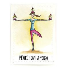 Love and Yoga (Penny Black)