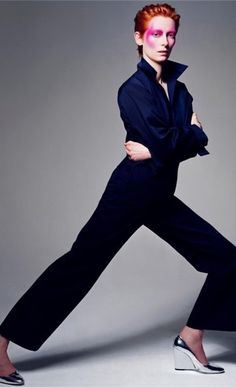 Tilda Swinton  by Craig McDean for Vogue Italia, February 2003