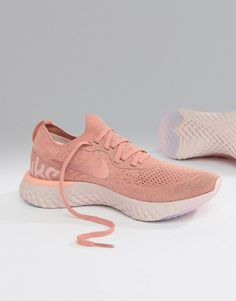 brand new 30d40 7d42e Nike Running  Nike Running Epic React Trainers In Pink Wardrobe Basics,  Running Shoes Nike