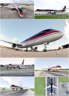 Pilot John Dunkin flies Donald Trump's Boeing 757 . . . • Mighty Planes, Season 2 Episode 3:  TRUMP 757 via Smithsonian Channel