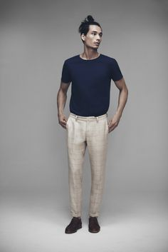Tee Shirt and Presley Trousers | Samuji Man SS15 Collection