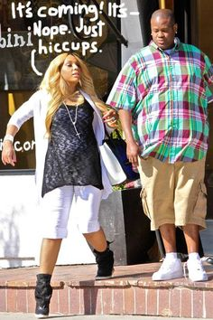 Tamar Braxton Baby P Vincent Herbert West Hollywood