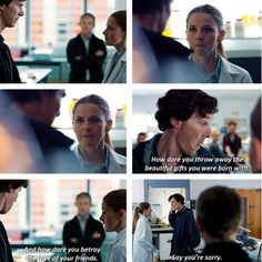 If you ask me, those three slaps were much more satisfying than the infamous kiss.  Molly Hooper: BAMF