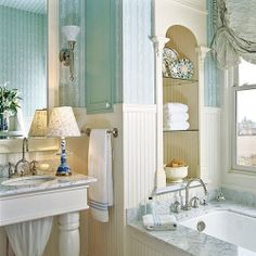 Turquoise Rooms - seaside style - mine.