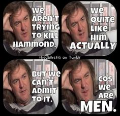 The manly men of Top Gear