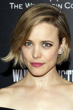 coiffure coupe carre Rachel McAdams