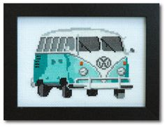 Hey, I found this really awesome Etsy listing at https://www.etsy.com/listing/113702206/vintage-vw-bus-cross-stitch-pattern