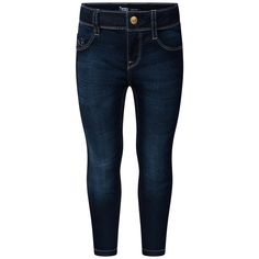 Levis Girls Blue Dark Wash Skinny Fit Jeans