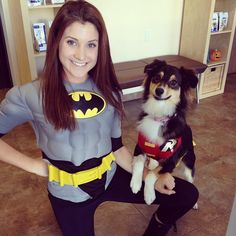These creative pet owners will help you wag the tails off the competition at the Halloween costume contest. Dog And Owner Costumes, Family Costumes, Pet Costumes, Halloween Costume Contest, Dog Halloween, Couple Halloween Costumes, Costume Ideas, Halloween Ideas, Halloween Decorations
