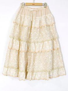 SALE すずらんレーススカート | PINKHOUSE,セール | ピンクハウスウェブショップ Fall, Skirts, Fashion, Autumn, Moda, Fall Season, Fashion Styles, Skirt