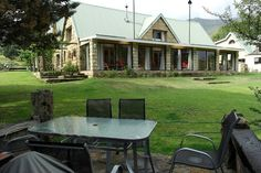Luxury Guesthouse, BnB or self catering, romantic getaway or family gatherings. Known for hospitality and service Country House is your home in the mountains Mountain Homes, Mountain View, Sandstone Wall, Golf Estate, Romantic Getaway, Double Bedroom, Bed And Breakfast, South Africa, Country