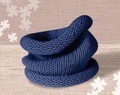 Snood enfant en laine douce bleu : Mode garçons par pourunmondeplusdoux
