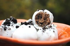 Shugary Sweets: Oreo Peanut Butter Truffles