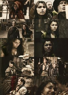 Les Mis (2012) | In director Tom Hooper's adaptation of Les Misérables, Eponine is played by Samantha Barks, and young Eponine by Natalya Angel Wallace.