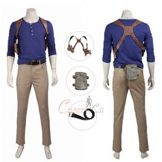 Nathan Drake Costume Uncharted A Thief's End Cosplay Drake Uncharted 4, A Thief's End, Nathan Drake, Motion Capture, Game Costumes, Mephisto, Cosplay Dress, Womens Size Chart, Online Sales