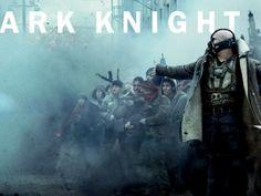 Batman vs Bane The Dark knight rises