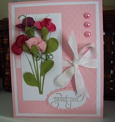 Brown Paper Packages: Sweet Peas and the Butterfly Punch with a Picture Tutorial!