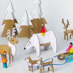 Gabari pour faire animaux de noel dans carton Capture d'écran 2015-12-12 à 23.23.09