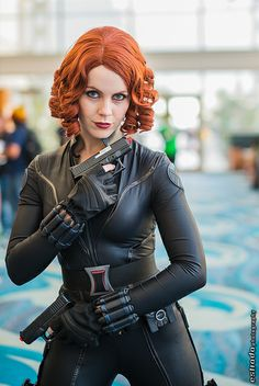 Black Widow #Marvel #Avengers #cosplay | Long Beach Comic & Horror Con 2013