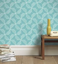 Trend | Scandi | Rosette Wallpaper by Independent Designers | Jane Clayton