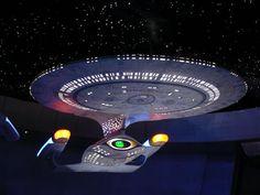 USS Enterprise-D model