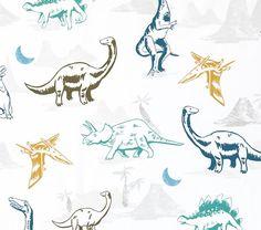 Dustin Dino Sheet Set | Pottery Barn Kids
