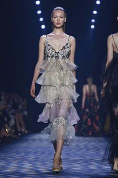 Marchesa - SS 2017...Cute, for the non- tradition bride. Change to bridal tones & adjust the length to fit the wedding theme.