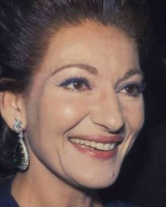 """Opera singer Maria Callas (1923-1977); she was praised for her """"bel canto"""" technique, wide-ranging voice and dramatic interpretations. One of the most influential opera singers of the 20th century."""