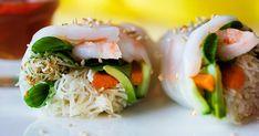 Kesärullat tuovat juhlapöytään säväyksen Aasiaa. Caprese Salad, Fresh Rolls, Sushi, Japanese, Cooking, Ethnic Recipes, Food, Kitchen, Japanese Language